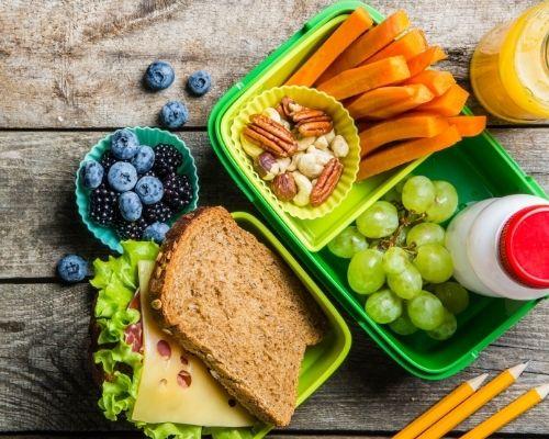 Lunchbox sans gluten