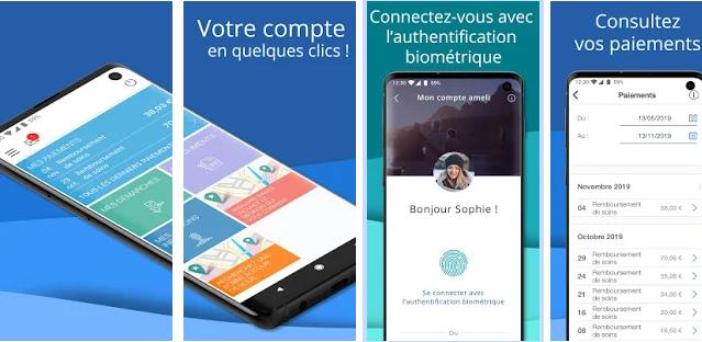 Application Mobile Remboursement Sécurité Sociale